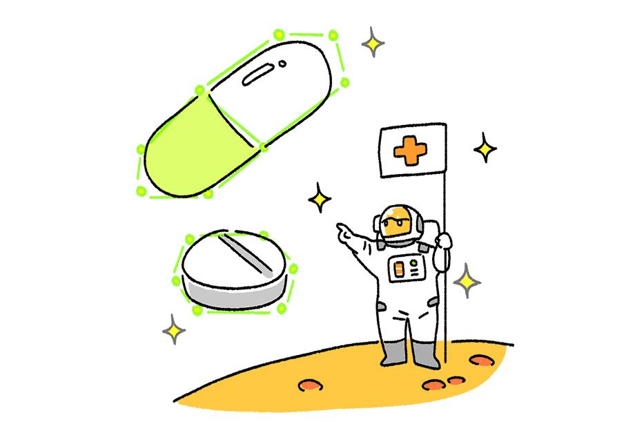 宇宙は医療を変えるか